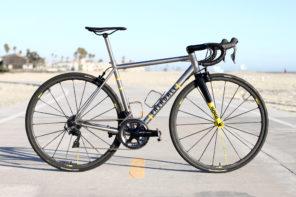 Fairdale Bikes // Sam Carlson's Titanium Spaceship